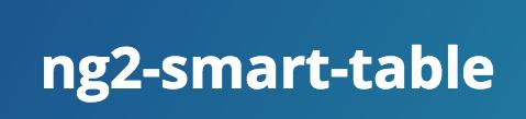 ng2 smart table