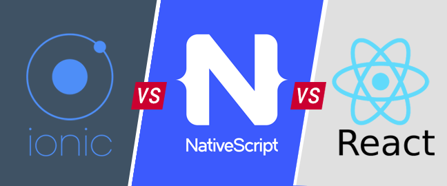 Ionic 2 vs ReactNative vs NativeScript | DiscoverSDK Blog