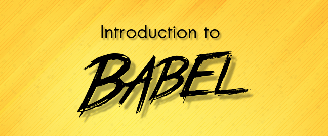 Introduction to Babel