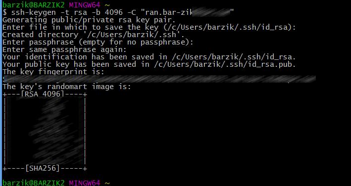 install SSH key