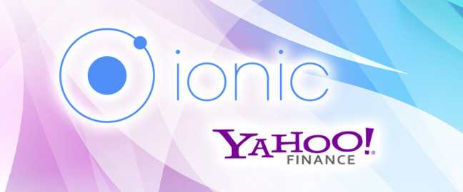 Plotting Stock Market Data in Ionic 2 – Integrating Yahoo