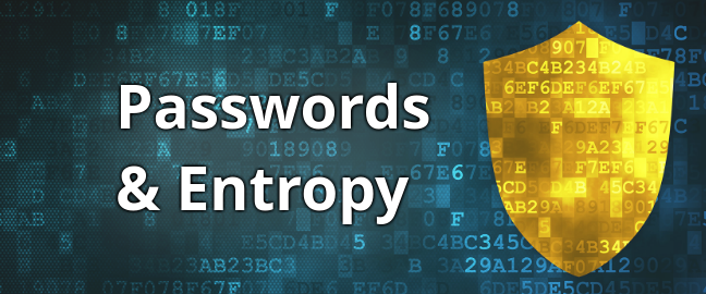 Passwords and Entropy