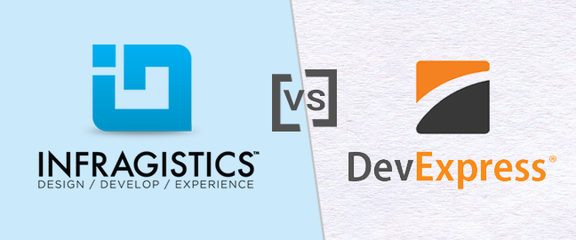 Devexpress Vs Telerik Vs Infragistics Vs Componentone