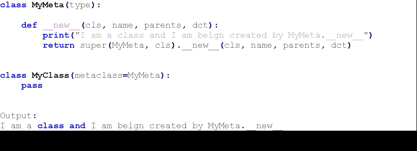 metaclasses python 5