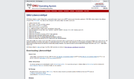 libmicrohttpd Toolkits and HTTP App