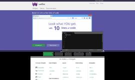 Webix UI library UI Frameworks App