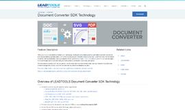 Document Converter SDK Technology General Parsers App