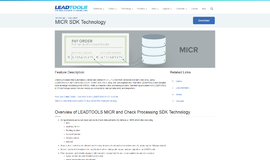 MICR SDK Technology OCR App