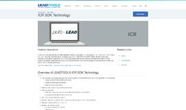 ICR SDK Technology OCR App