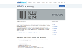 Barcode SDK Technology Barcode App
