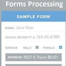 Forms Recognition and Processing SDK Technology