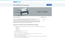 Fast TWAIN SDK Technology General Libraries App