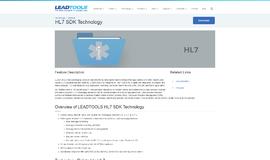 HL7 SDK Technology Embedded App