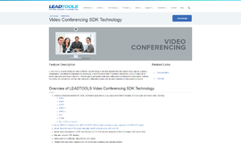 Video Conferencing SDK Technology Video and TV App