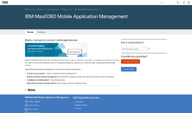 MaaS360 mobile management Management and Security App
