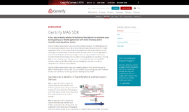 Centrify MAS SDK Management and Security App