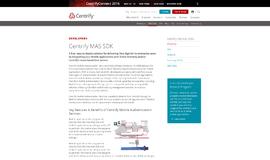 Centrify MAS SDK Management and Security App