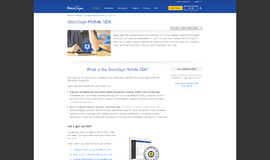 DocuSign Mobile SDK Management and Security App