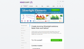 Silverlight Elements Controls App