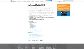 Alfresco Mobile SDK Integration App