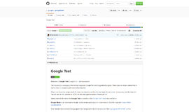 Googletest Testing Frameworks App
