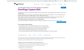 OmniPage Capture SDK OCR App