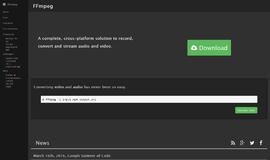 FFmpeg Frameworks App