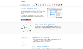 QuickBooks Online ODBC Driver Database Libraries App