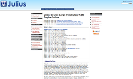 Julius Engine Speech and Voice Recognition App