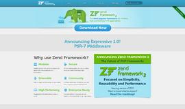 Zend Framework 2 PHP App