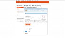 Ubuntu Boost Serialization Library Serialization App