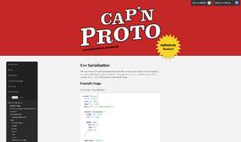 Capn Proto C Serialization Serialization App