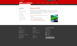 Data and GIS GIS and Navigation App