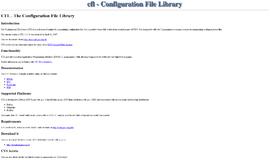 CFL Configuration Files App