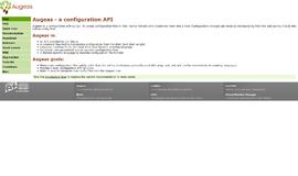 Augeas Configuration Files App