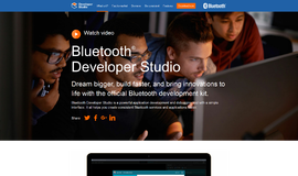 Bluetooth® Developer Studio Bluetooth and WiFi App
