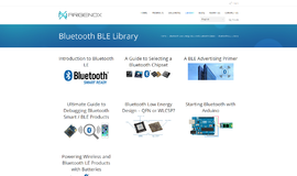 Bluetooth BLE Library Bluetooth and WiFi App
