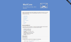 MailCore 2 Application Layer Protocols App
