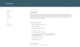 FTP API Application Layer Protocols App