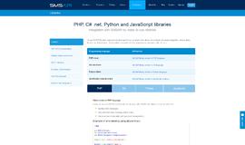 SMSAPI library SMS App