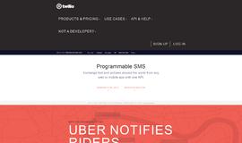 Twilio SMS SMS App