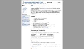 Atomthreads RTOS App