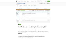 BeanTest Testing Frameworks App