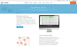 RapidMiner Studio Artificial Intelligence and Machine Learning App