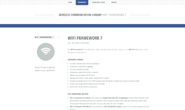 WiFi Framework Bluetooth and WiFi App