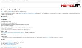 Apache HBase Wide Column Store App