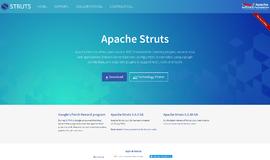 Apache Struts Web Frameworks App
