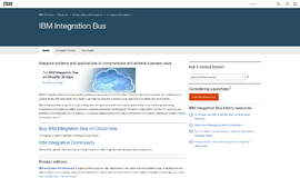 IBM Integration Bus Portals App