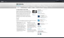 IBM Informix Wide Column Store App