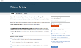 Rational Synergy Version Control App